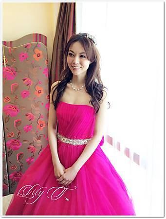 北部新娘秘書Lily左永立 新娘典雅白紗蕾絲造型 韓風新娘造型