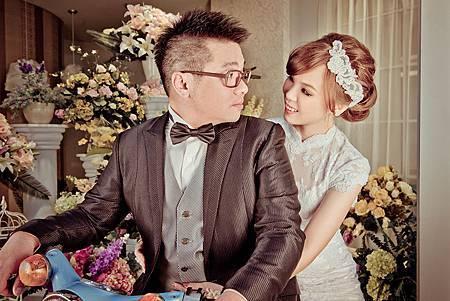 台北新娘秘書LilyTso 左永立 自助婚紗造型 白紗典雅蕾絲造型 整體時尚彩妝造型 Bridal Hair and makeup