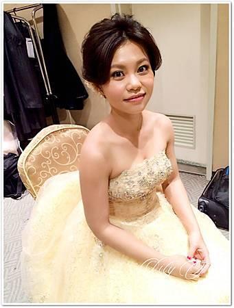 台北新娘秘書左永立 婚攝Jay Hsu Bridal hair &makeup