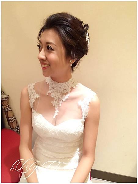 台北新娘秘書Lily左永立 短髮新娘造型 自助婚紗造型 新娘化妝造型 海外新秘服務 整體時尚彩妝造型 個人彩妝教學