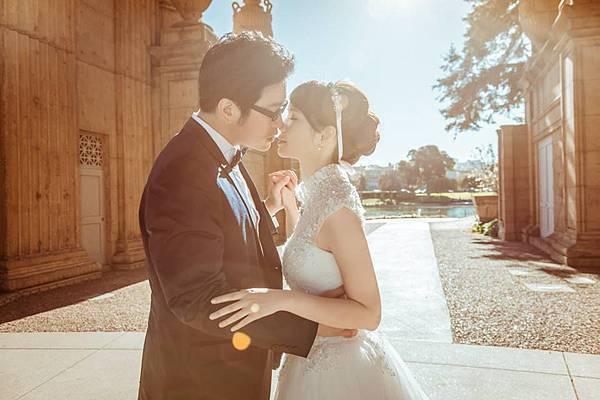 台北新娘秘書左永立LilyTso 新娘歐美造型 海外婚紗新秘服務 自助婚紗 舊金山婚紗 Sigridchien