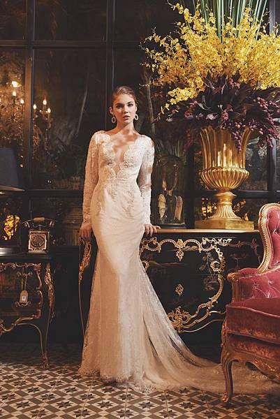 台北新娘秘書左永立Lily 整體時尚彩妝造型 新娘化妝造型 自助婚紗造型 法式風格婚紗 新娘蕾絲白紗典雅造型 海外婚紗新秘服務 個人彩妝教學 歐美婚紗造型