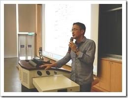 圖11.「台灣大學校園綠建築之博雅教學館」講座