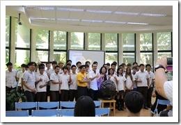 105年10月4日虛擬實境校園巡迴體驗活動及跨校社群,合作聯盟,地點內壢高中。