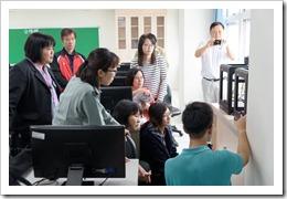 106年4月25日:-學校特色課程「Zortrax M200 3D 列印機」教案開發及成立跨校專業社群活動,地點:楊梅高中資訊教室