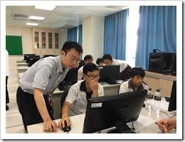 106年6月6日「3D列印課程-你的名字」,地點:楊梅高中