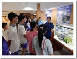 106年6月8日高榮社區濕地銀行溼地復育特色課程,魚類介紹,地點:郭元益糕餅博物館