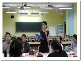106年6月14日跨校教學觀摩,觀摩課程:棉花糖挑戰,地點:楊梅高中