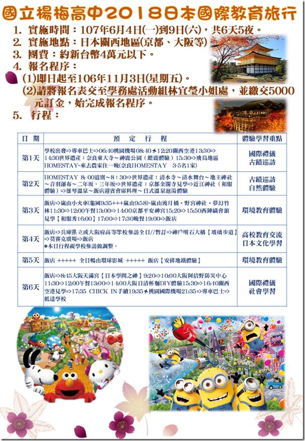 國際教育旅行海報