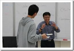 會後教師與主講者將換心得