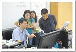 施主任課後指導,參加的職員非常驚訝