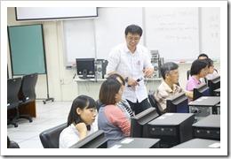 施主任對於提問的老師充分指導