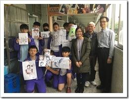 楊梅高中的同學攝影
