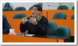 陳岫傑博士對江老師的教學建言
