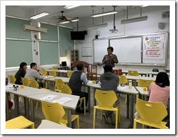 許技江老師的教學演示當日照片