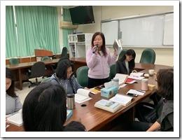 劉湘櫻老師的開場介紹與致詞
