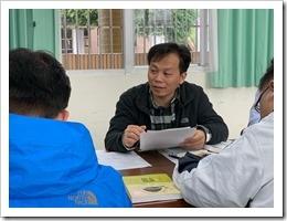 楊偉裕老師對於教材議題的發表