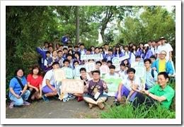 1070427本次活動本校師生於高榮731號池團體合影合影
