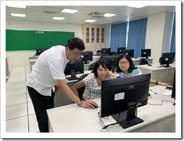 施文賢主任對教師的指導