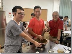 仙草擂茶DIY製作過程3