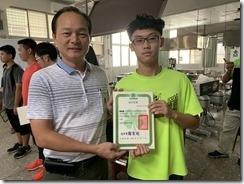 楊梅區農會周總幹事頒發結訓證書5