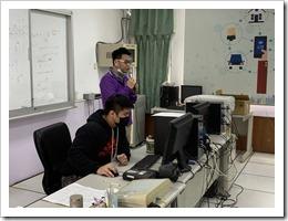 賴申洲老師對於學生提報提出說明與指導