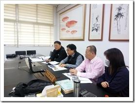鄒岳廷校長針對專題實施專案報告