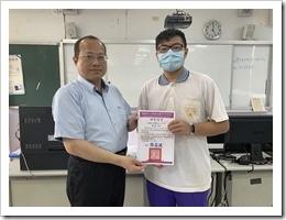 李主任頒發研習證書06