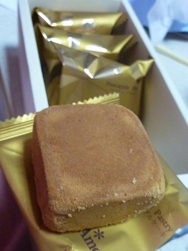 阿默蛋糕的金鑽鳳梨酥