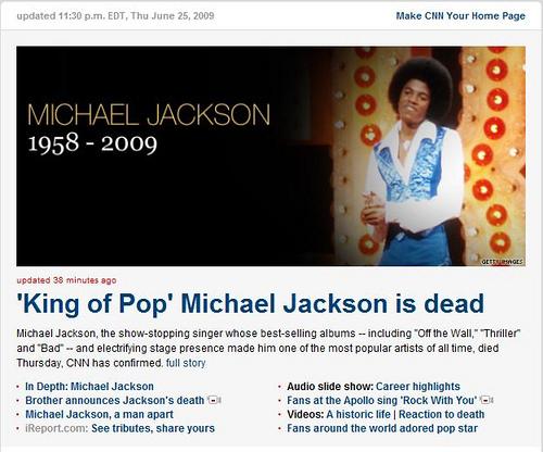 bye~Michael Jackson麥克傑克森