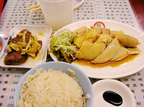 文慶雞的海南雞飯