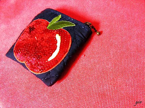 handmade! apple's wallet