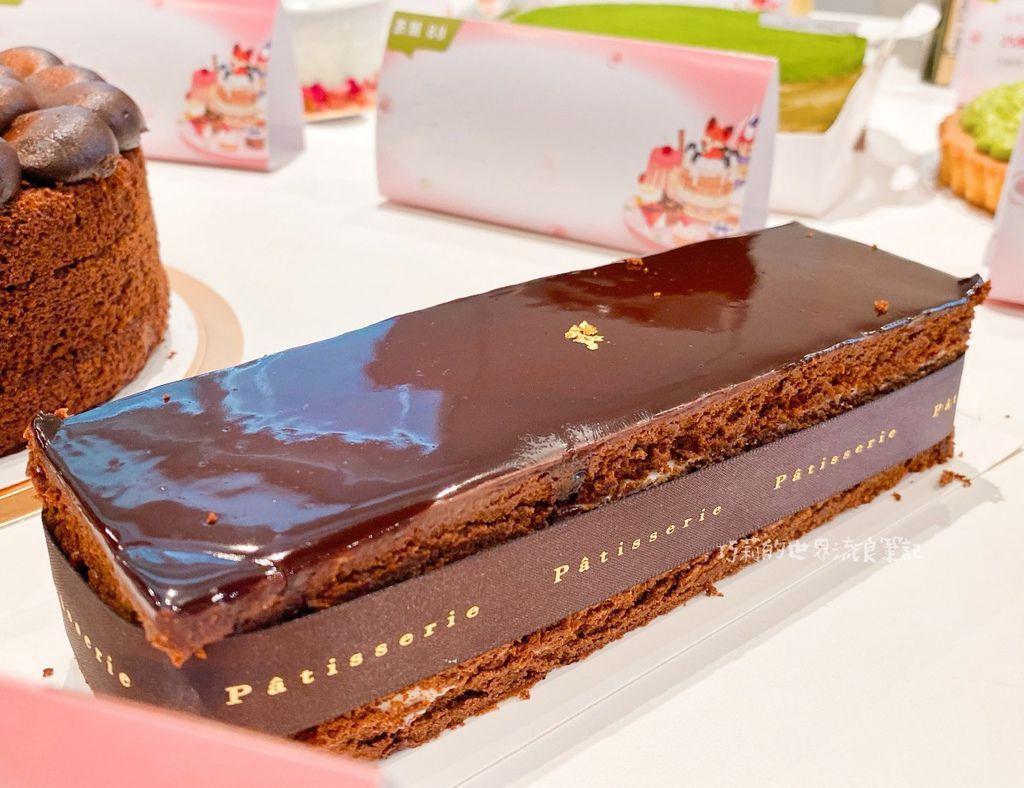 鋼琴師法式甜點_蕭邦夜曲OP92 純黑巧克力無粉蛋糕