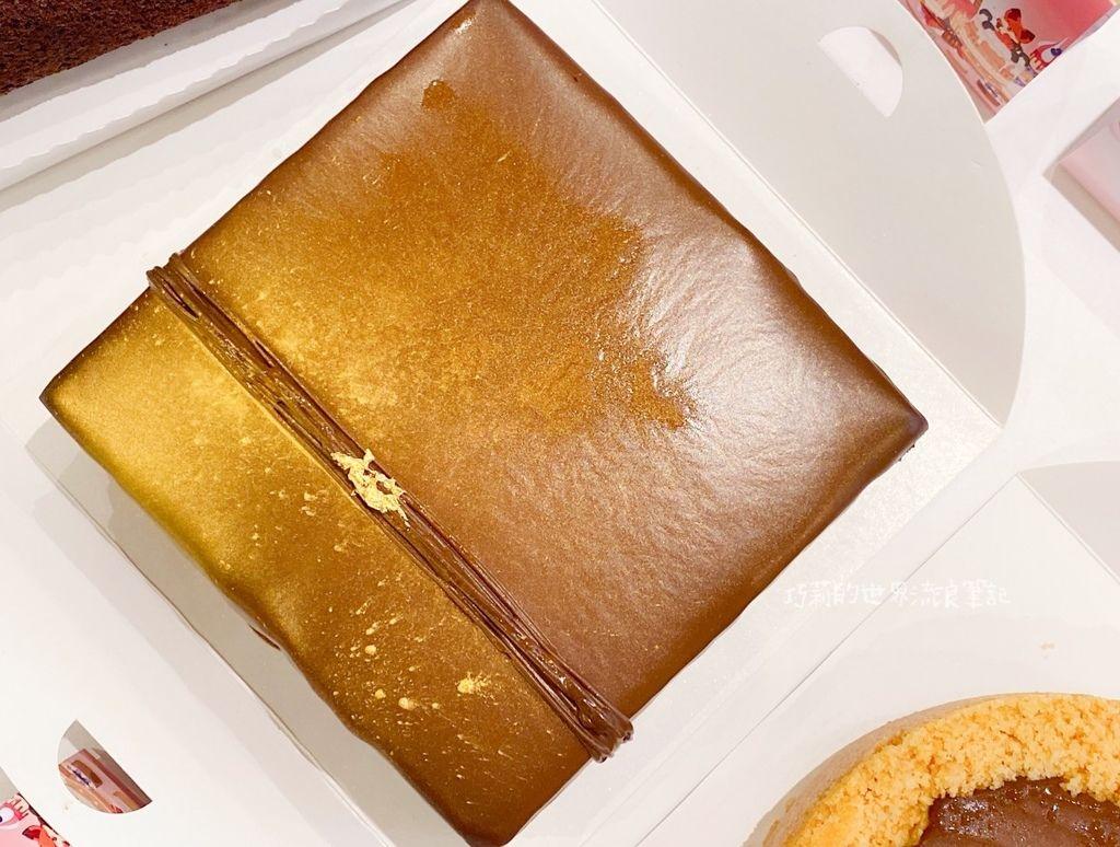艾波索法式甜點_巧克力黑金磚方形