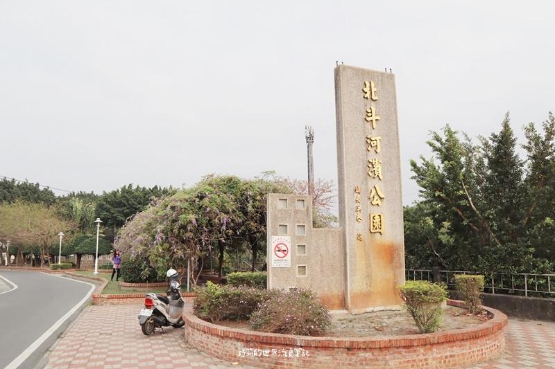 彰化賞花景點 彰化北斗河濱公園不是只有美人樹,還有這條夢幻紫藤花廊道!