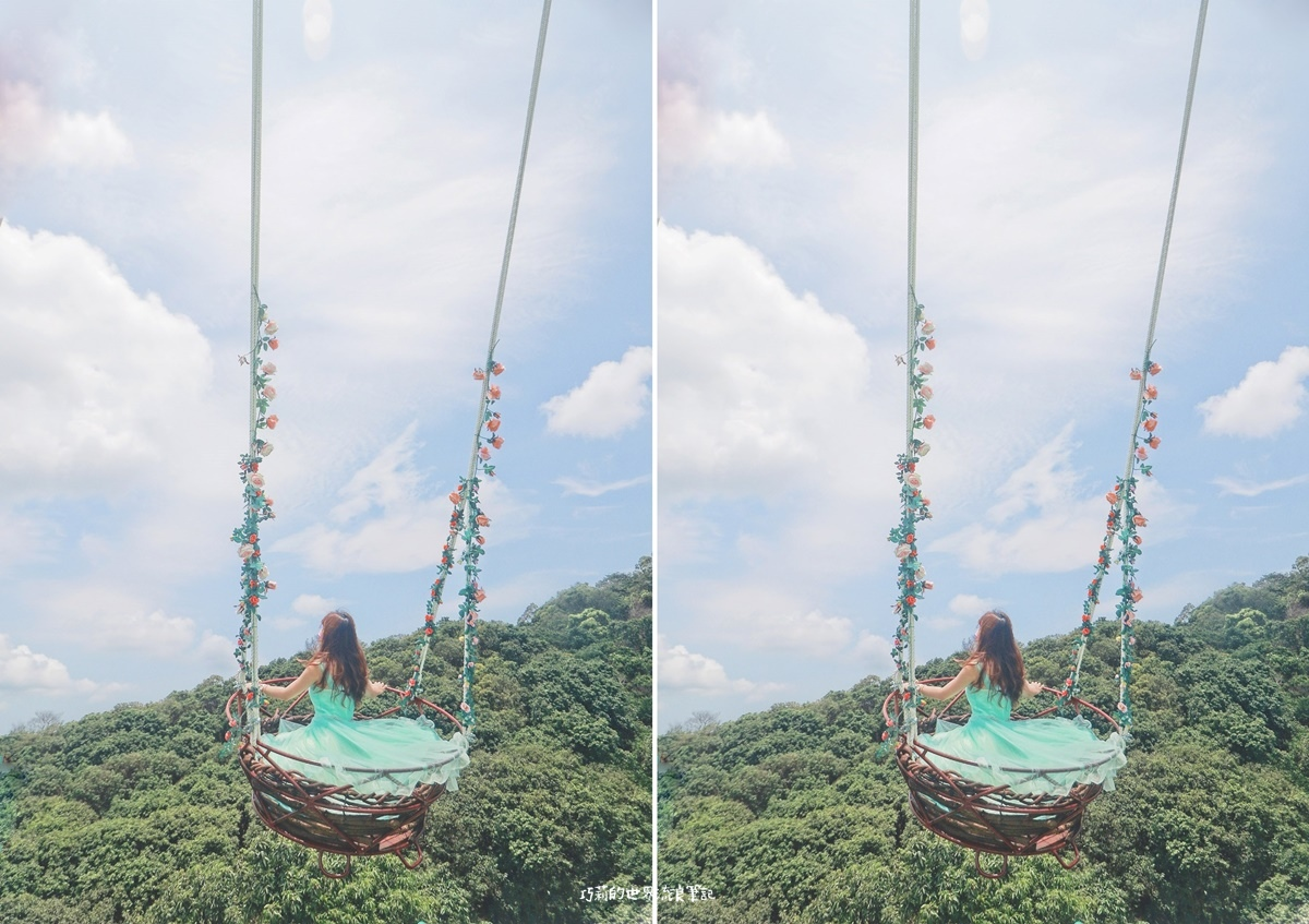 彰化 雲河星空景觀餐廳 2021最新網美打卡景點 叢林高空鞦韆