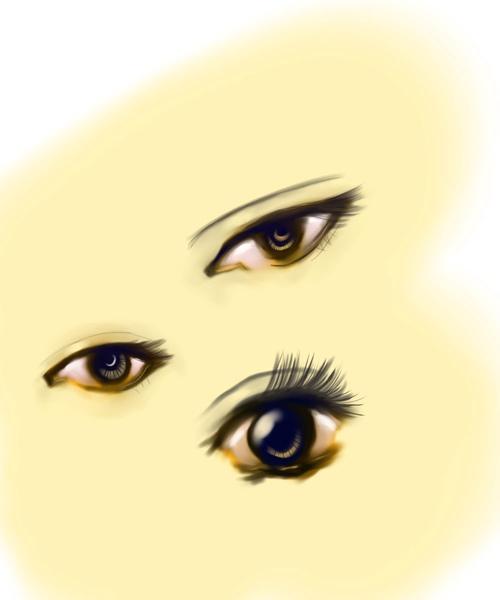 練習用眼睛
