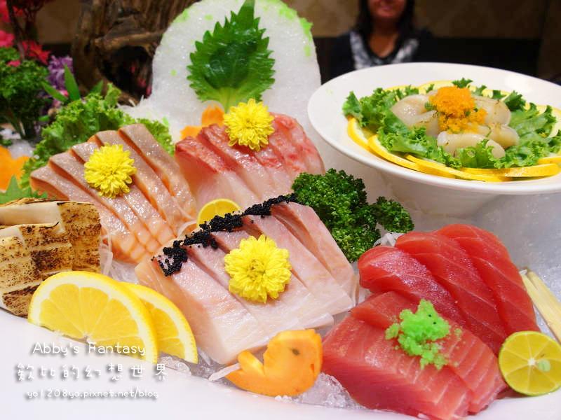 新竹市 東街日式料理 創意料理 合菜 生魚片推薦 干貝 定食 壽司 鮑魚 正翰室內收費停車場 好停車 巨城附近 (10).jpg