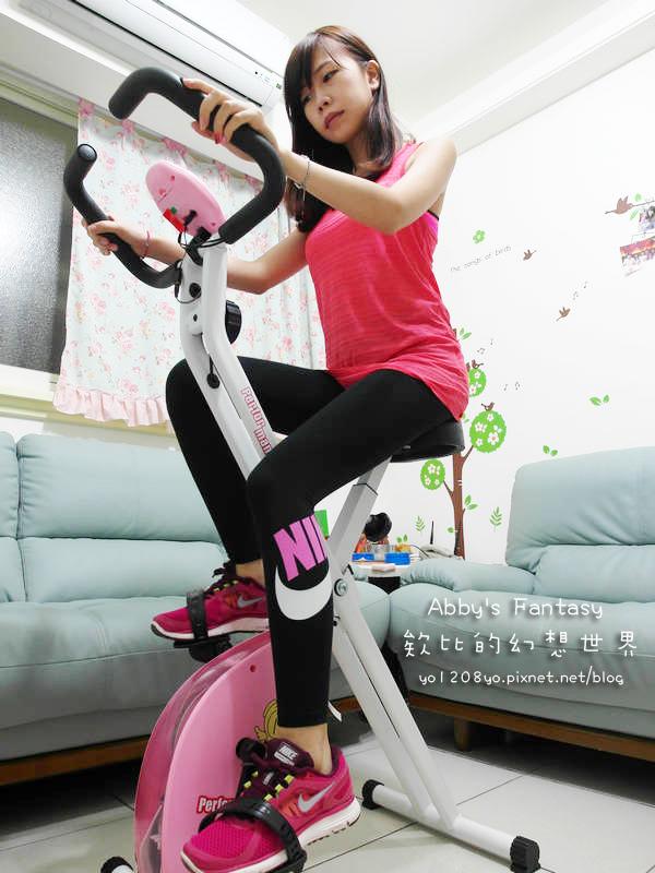 Performance 台灣精品 x-bike 19807 秒殺機種 磁控健身車 31公分超大座墊 粉紅腳踏車 女孩必備 好組裝 女生也能輕易組裝 (7).jpg