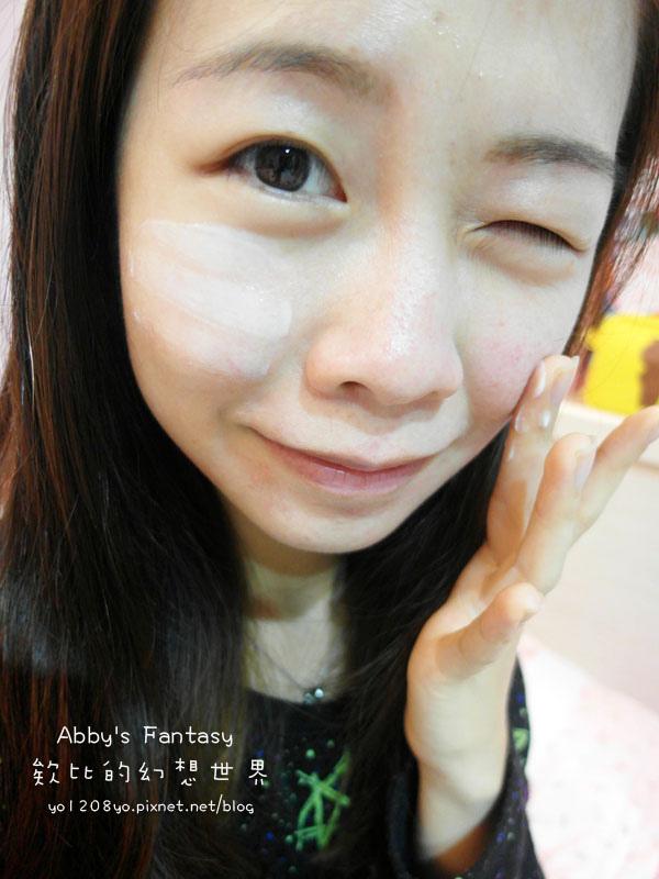 臉部保養  V臉緊緻神器!幫肌膚穿上隱型彈力衣~ HANROON韓潤隱型八爪緊緻精華+隱型八爪超能緊緻霜 Abby's Fantasy 欸比的幻想世界 (12).jpg