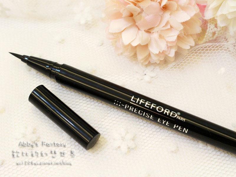 泰國必買 超夯  夏日持妝 Lifeford Hi-Precise Eye Pen 防水防油抗暈持久眼線液 Abby's Fantasy 欸比的幻想世界 (6).jpg