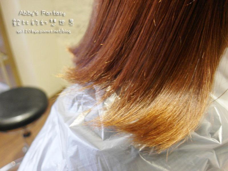打造夏日清新髮色◆推薦新竹市區優質髮廊◆挑染低調華麗的亞麻色◆愛用AVENDA美髮產品 Abby's Fantasy 欸比的幻想世界 (14).jpg