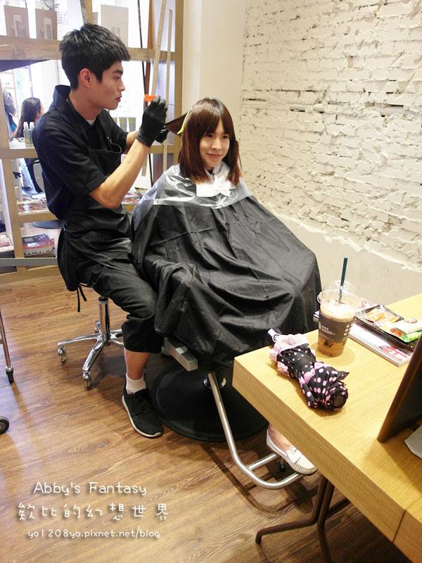 打造夏日清新髮色◆推薦新竹市區優質髮廊◆挑染低調華麗的亞麻色◆愛用AVENDA美髮產品 Abby's Fantasy 欸比的幻想世界 (19).jpg