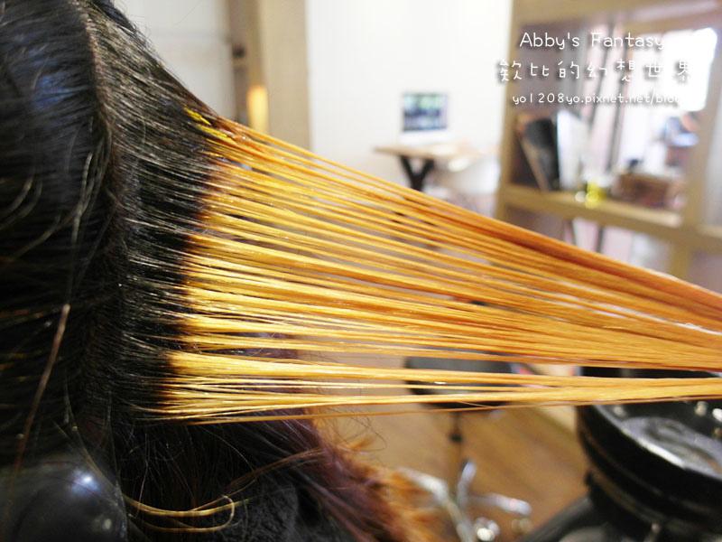 打造夏日清新髮色◆推薦新竹市區優質髮廊◆挑染低調華麗的亞麻色◆愛用AVENDA美髮產品 Abby's Fantasy 欸比的幻想世界 (30).jpg