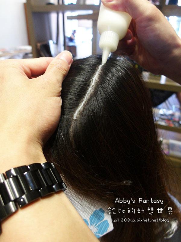 打造夏日清新髮色◆推薦新竹市區優質髮廊◆挑染低調華麗的亞麻色◆愛用AVENDA美髮產品 Abby's Fantasy 欸比的幻想世界 (31).jpg