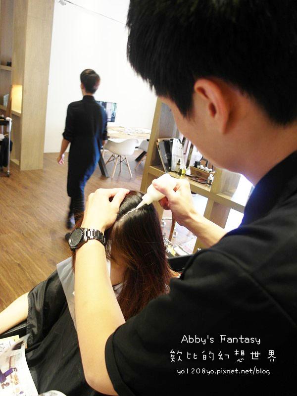 打造夏日清新髮色◆推薦新竹市區優質髮廊◆挑染低調華麗的亞麻色◆愛用AVENDA美髮產品 Abby's Fantasy 欸比的幻想世界 (32).jpg