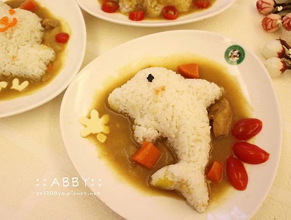 教你簡單做出人人稱羨的柴犬變身獅子咖哩飯%26;小貓蔬菜日式便當❤ DIY創意料理 (10).jpg