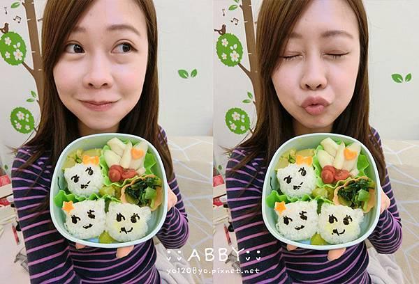 教你簡單做出人人稱羨的柴犬變身獅子咖哩飯%26;小貓蔬菜日式便當❤ DIY創意料理 (17).jpg