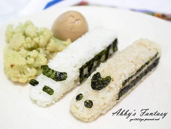 五分鐘完成可愛日本電車飯糰套餐,提升小孩食慾的好方法 ❤ Arnest創意料理小物電車飯糰模型套組 (5).jpg