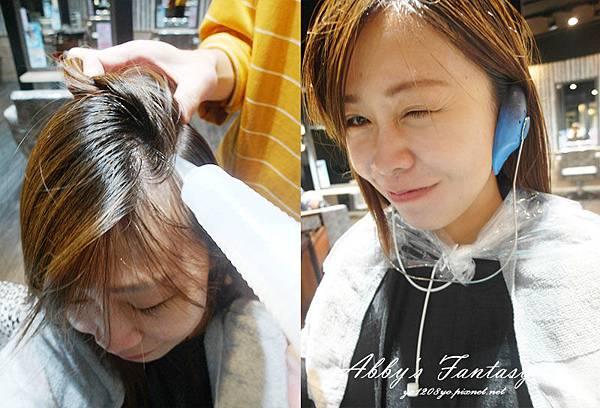 │北車染護髮推薦A Hair salon│溫柔細心設計師Nelson尼爾森│自然咖啡髮質柔順 欸比分享 Abby (14).jpg